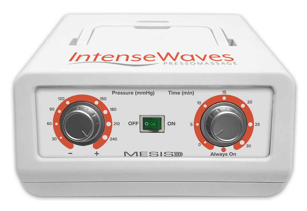 Intense Waves pannello dei comandi per personalizzare il massaggio