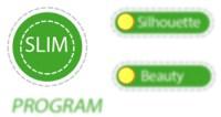 Programma slim pressoestetica Mesis JoySense 3.0, programma specifico per coadiuvare il diamgrimento