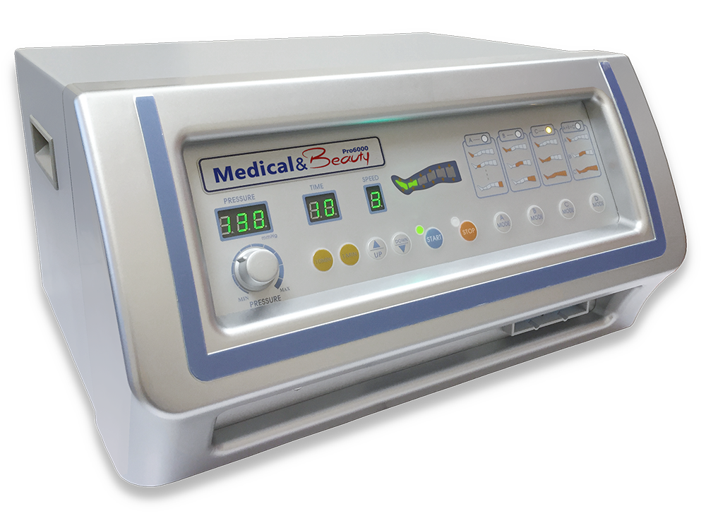 Pressoterapia Mesis Medical & Beauty per uso in medicina e medicina estetica.