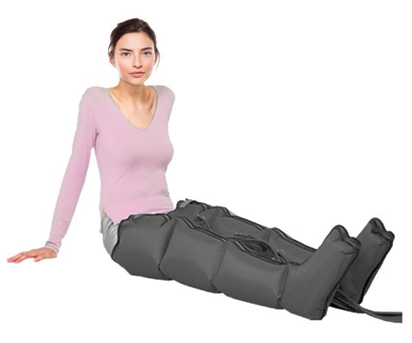 PressoMassaggio® MESIS® EkÓ con due gambali per gambe più leggere